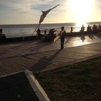 Photo taken at Pantai Morib by Aminuddin R. on 6/1/2013
