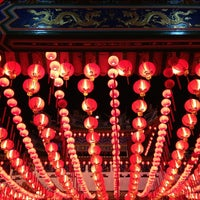 Photo taken at Thean Hou Temple (天后宫) by Niki Y. on 2/10/2013