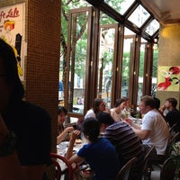 Photo taken at Cafe Lalo by Eddie Q. on 7/27/2013