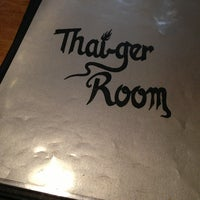 Photo taken at Thaiger Room by Claire P. on 7/14/2013