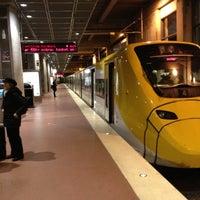 Photo taken at Arlanda Express (Stockholm C) by Don A. on 11/9/2012