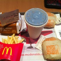 Photo taken at McDonald's by  Bira M. on 5/18/2013