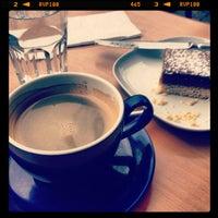 Photo taken at Lennox Café by Edwina Elizabeth on 2/3/2013
