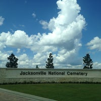 Photo taken at Jacksonville National Cemetery by Corinna H. on 9/2/2013