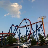 Photo taken at Six Flags Great Adventure by Ken R. on 9/22/2012