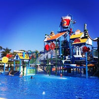Photo taken at Fasouri Watermania Waterpark by Tatiana R. on 6/26/2013