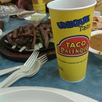 Photo taken at Taco Palenque by Christian M. on 12/27/2012