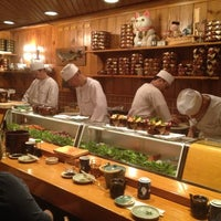 Photo taken at Sagami Japanese Restaurant by Sally S. on 11/21/2012