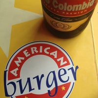 Photo taken at American Burger by Nicolas V. on 1/24/2013