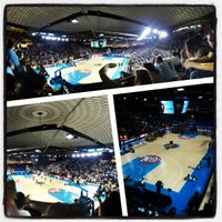 Photo taken at Palau Blaugrana by Oriol B. on 4/18/2013