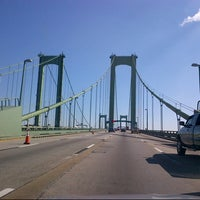 Photo taken at Delaware Memorial Bridge by Matthew S. on 10/21/2012