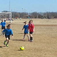 Photo taken at Corinth Soccer Fields by Erica M. on 2/22/2014