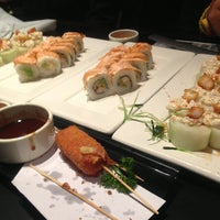 Photo taken at Sushi Roll by Pily C. on 1/29/2013