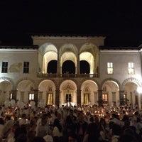 Photo taken at Palazzo Borromeo by Luca R. on 9/20/2014