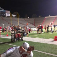Photo taken at War Memorial Stadium / AT&T Field by DeAundre B. on 6/4/2013
