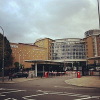 Photo taken at BBC Television Centre by Ben F. on 10/27/2012