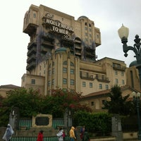 Photo taken at The Twilight Zone Tower of Terror by Sam B. on 5/25/2013