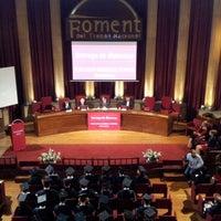 Photo taken at Foment del Treball - Forum Marketing by Sergio C. on 5/31/2013