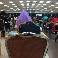 Photo taken at Exam Hall by Farah A. on 9/21/2015