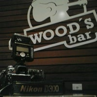 Photo taken at Wood's Bar by Lucas P. on 4/13/2013