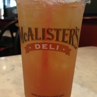 Photo taken at McAlister's Deli by Nick R. on 4/24/2013