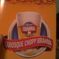 Photo taken at Quiosque Chopp Brahma by Suh F. on 10/7/2012