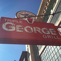 Photo taken at Triple George Grill by Joel J. on 2/6/2013