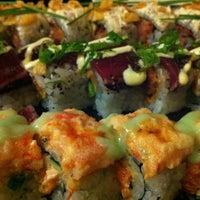 Photo taken at Sushi Damo by Deanna E. on 10/6/2012