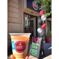 Photo taken at Saxbys Coffee by Marie Gooddayphoto W. on 8/28/2015