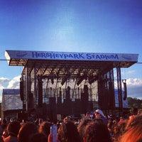 Photo taken at Hersheypark Stadium by Ali K. on 7/7/2013