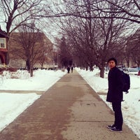 Photo taken at Parkes Hall by Felix T. on 2/14/2014