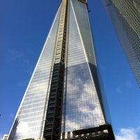 Photo taken at One World Trade Center by Ilaria L. on 12/28/2012