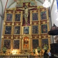 Photo taken at La Parroquia De San Gabriel Arcángel by Ivett R. on 1/17/2015