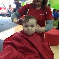 Photo taken at Kids' Hair by Michael B. on 4/18/2014
