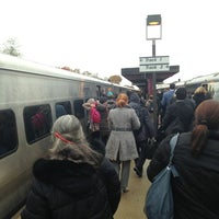 Photo taken at Metro North - Mt Vernon West Train Station by *Bitch Cakes* on 11/12/2013