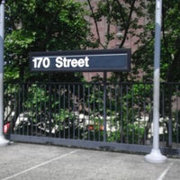 Photo taken at MTA Subway - 170th St (4) by Jeff on 6/22/2013