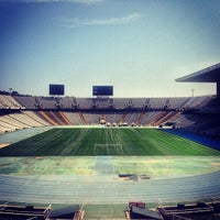 Photo taken at Estadi Olímpic Lluís Companys by Andrey on 7/21/2013