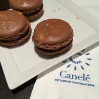 Photo taken at Canelé Pâtisserie Chocolaterie by CJ D. on 4/12/2014
