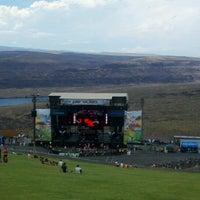 Photo taken at The Gorge Amphitheatre by Eric J. on 6/29/2013