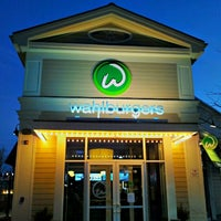 Photo taken at Wahlburgers by Jay P. on 1/20/2013