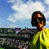 Photo taken at Grandstand Court - Sony Ericsson Open by Caribbean Queen on 3/29/2014
