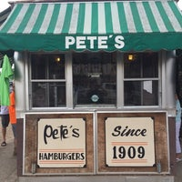Photo taken at Pete's Hamburger Stand by Paul W. on 6/28/2014