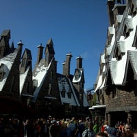 Photo taken at The Wizarding World Of Harry Potter - Hogsmeade by Morgan H. on 2/19/2013