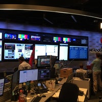 Photo taken at CNN Newsroom by Christian O. on 9/17/2015