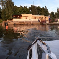 Photo taken at Gulf Kulosaari by Henri . on 7/27/2016