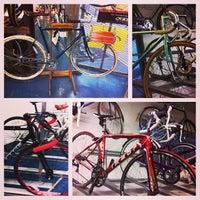 Photo taken at Upgrade Cycle Works by Josh K. on 1/20/2014