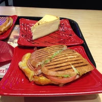 Photo taken at Cafe Zupas by Leslie H. on 12/21/2013