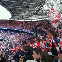 Photo taken at Stadion Feijenoord by Christo M. on 5/10/2013