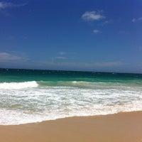 Photo taken at City Beach by Letícia M. on 11/18/2012