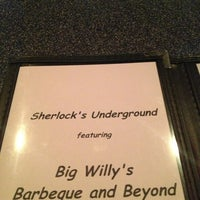 Photo taken at Sherlock's Underground Coffee House & Pub by Logan on 3/16/2013